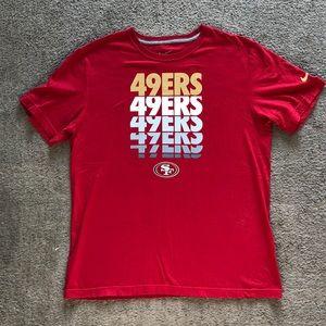49ers T-Shirt Nike
